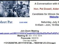 COAL Notice - Don't Miss - Secretary of State Candidates - 7/24 and 7/31