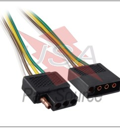 details about 2ft trailer light wiring harness extension 4 pin flat plug wire connector 24  [ 1000 x 1000 Pixel ]