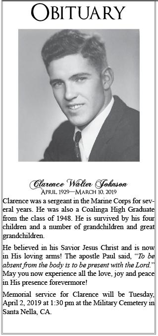 ClarenceJohnsonObit