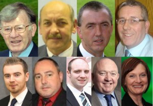 Dungannon council election candidates for 2011