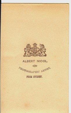 """Photographs from the Glennie Family Albums - The """"Black Album"""" (Digitised by Anne Glennie)"""