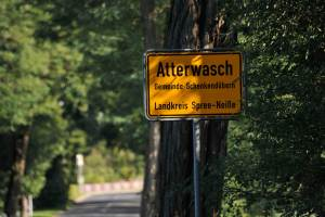 Sign entering Atterwasch