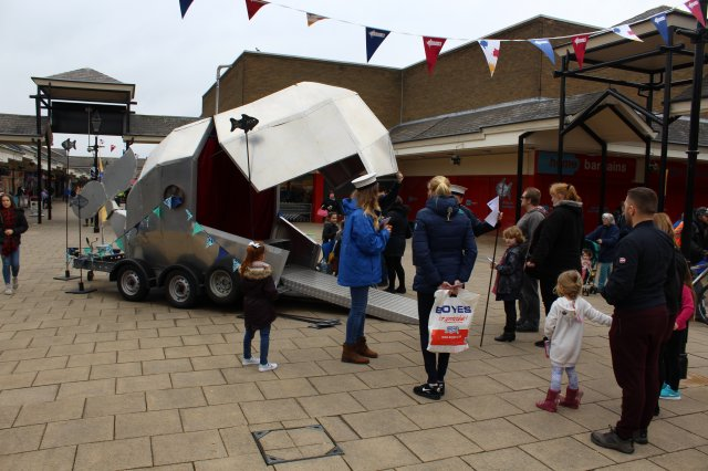 Visitors have a whale of a time at Coalville Writes festival