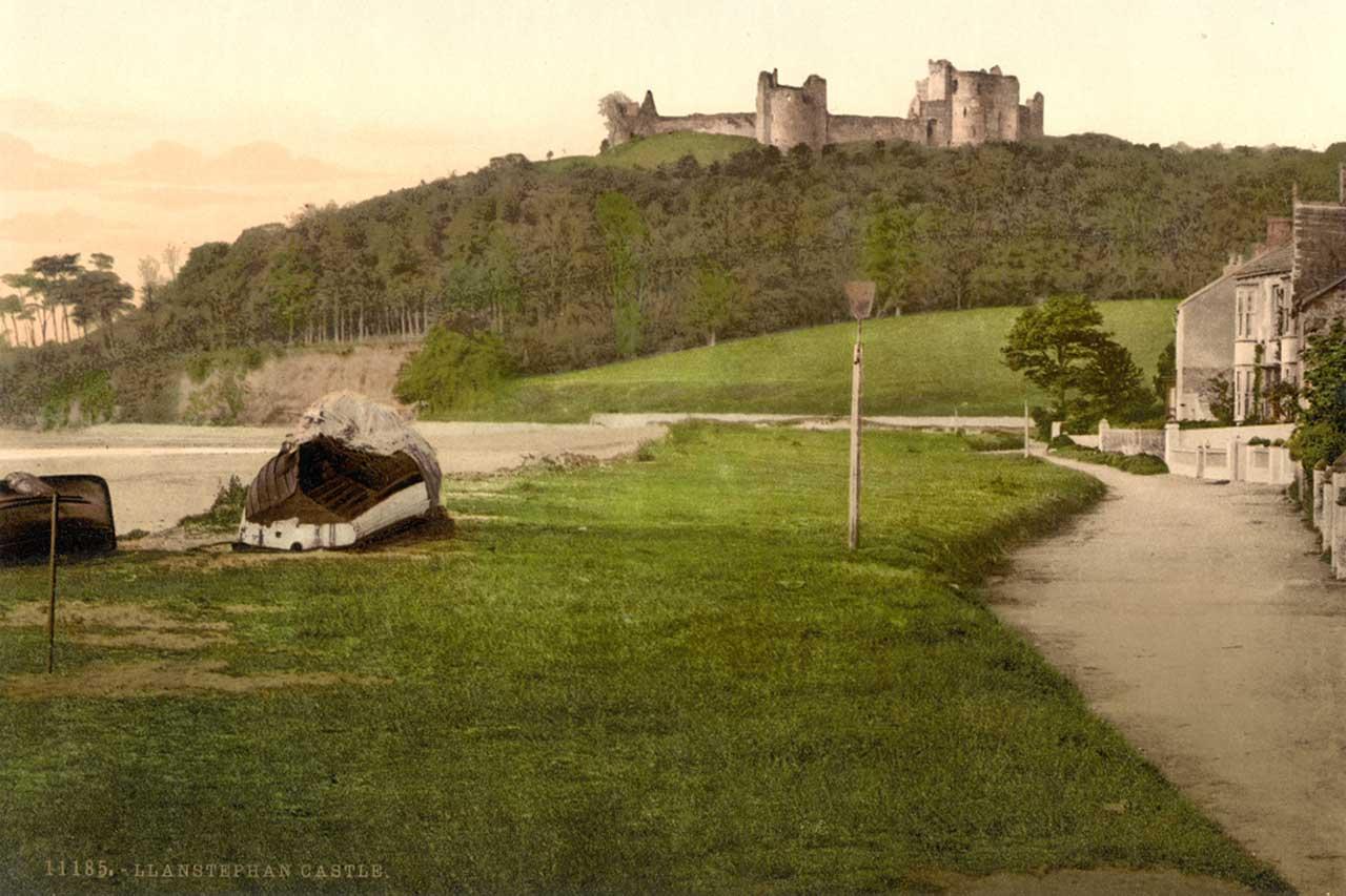 Llansteffan Castle