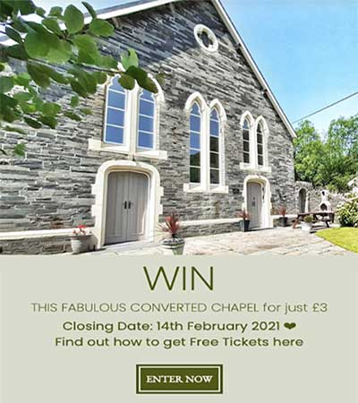 Win TWO Houses in Wales