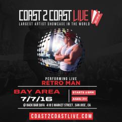 Back Bar Sofa San Jose Ca Empire Styles Retro Man Retroheadz Performs At Coast 2 Live Bay Area Edition 7 16 2nd Place