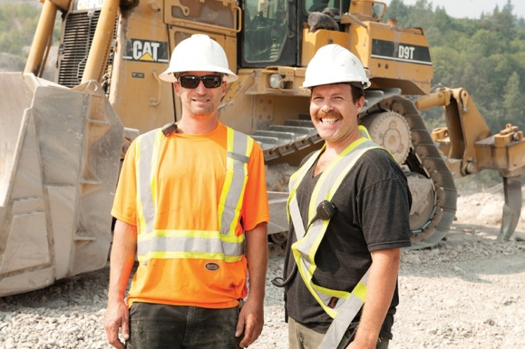Squamish Chief Feature: Squamish's 11,500 year old gravel deposit essential to local construction industry