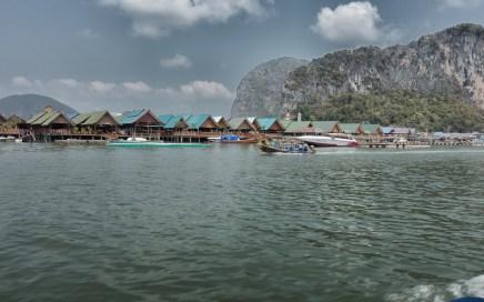 """Muslim Village"" off of Phuket"