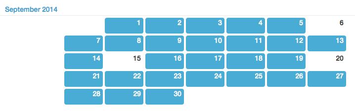 Day One Calendar