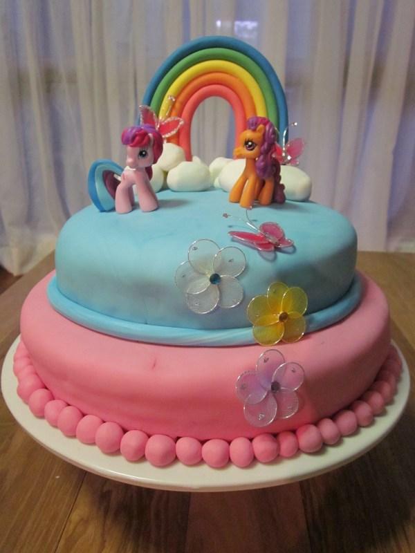 Little Pony Cake Coastal Design