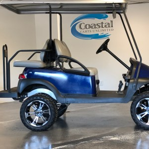 Electric Club Car Precedent in Royal Blue