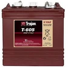 Trojan Golf Cart Battery- T 605