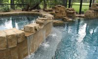 Swimming Pool Waterfall Designs - Home Design Ideas