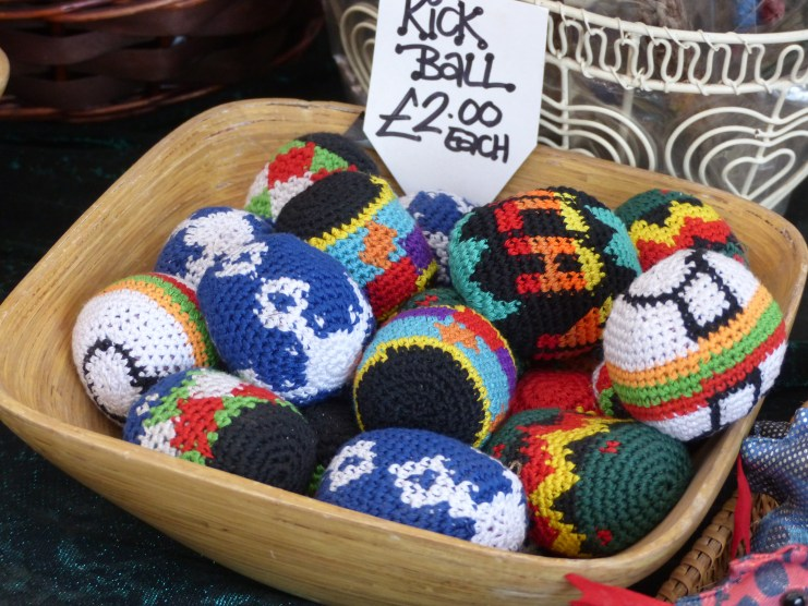 Another stall where I spotted some crochet for sale!