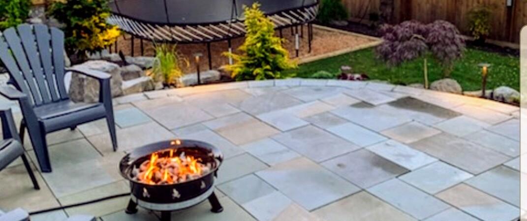stone patios coquitlam concrete