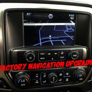GM Factory Navigation Upgrade
