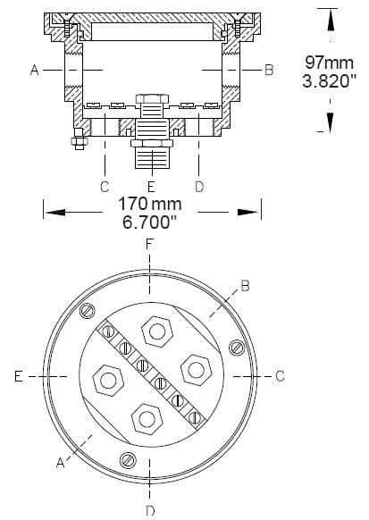 PEM A480 Deck / Junction Box [376-52200Series] : Coastal
