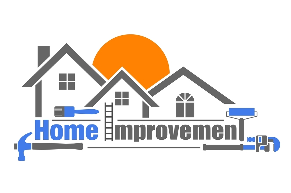 Vector illustration of home improvement icon on white background