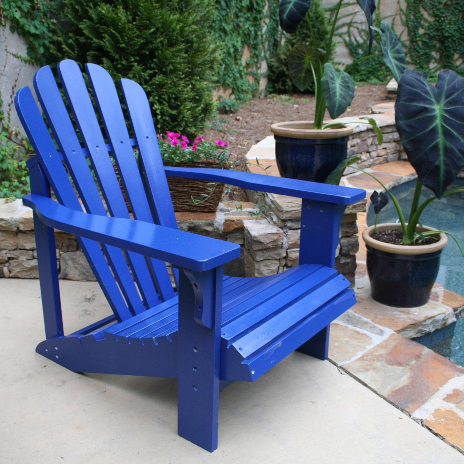 Relaxing in Style The Adirondack Chair