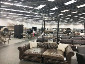 Interior of RH Outlet in Jacksonville, FL