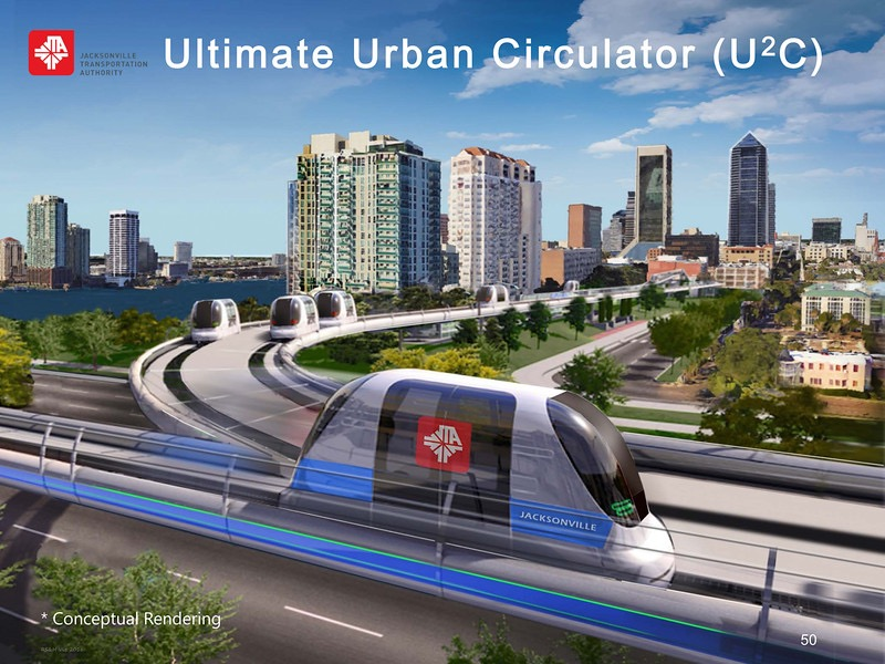Rendering from JTA slideshow of new Skyway cars