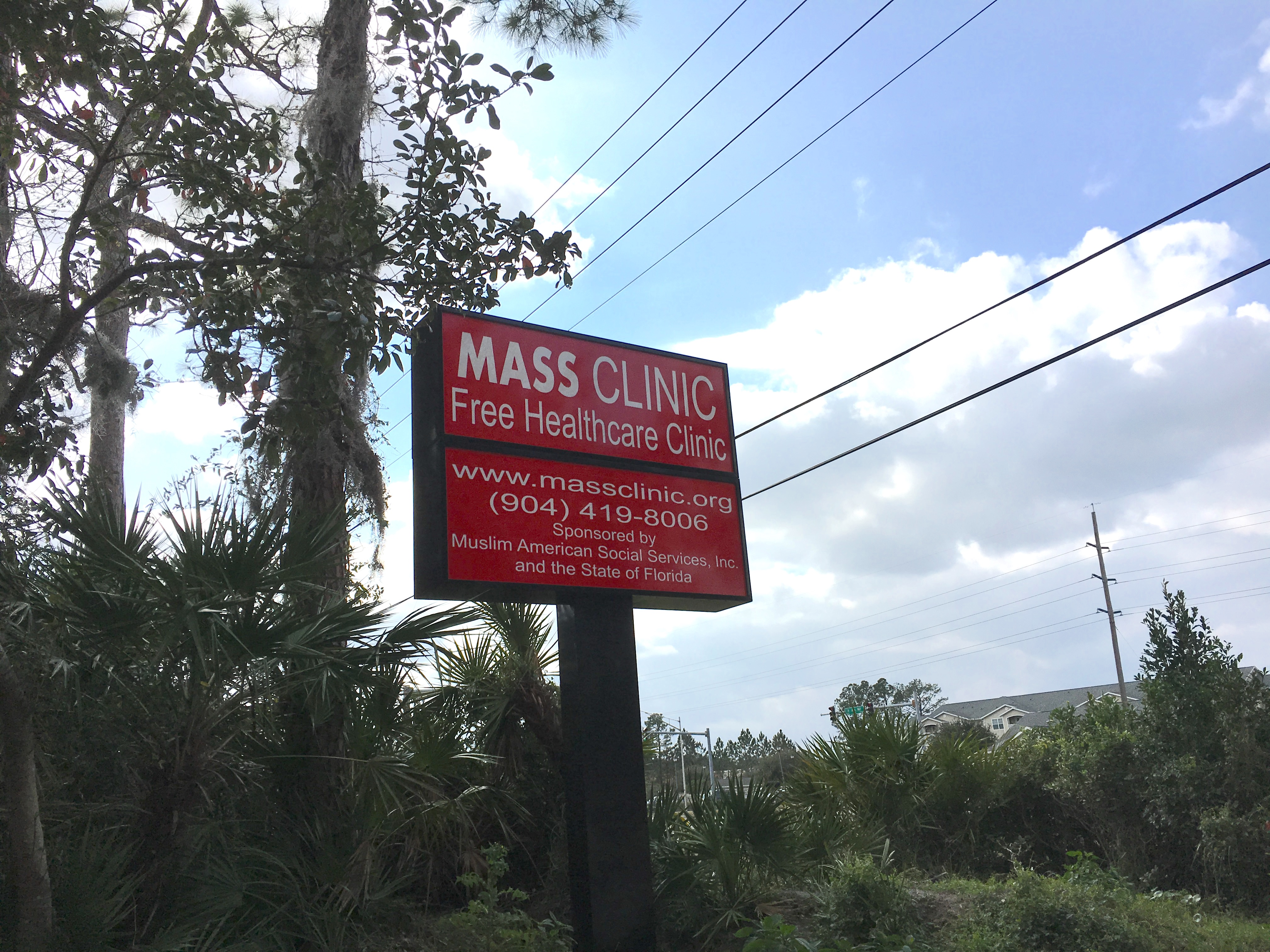 Muslim American Social Services clinic in Jacksonville, FL