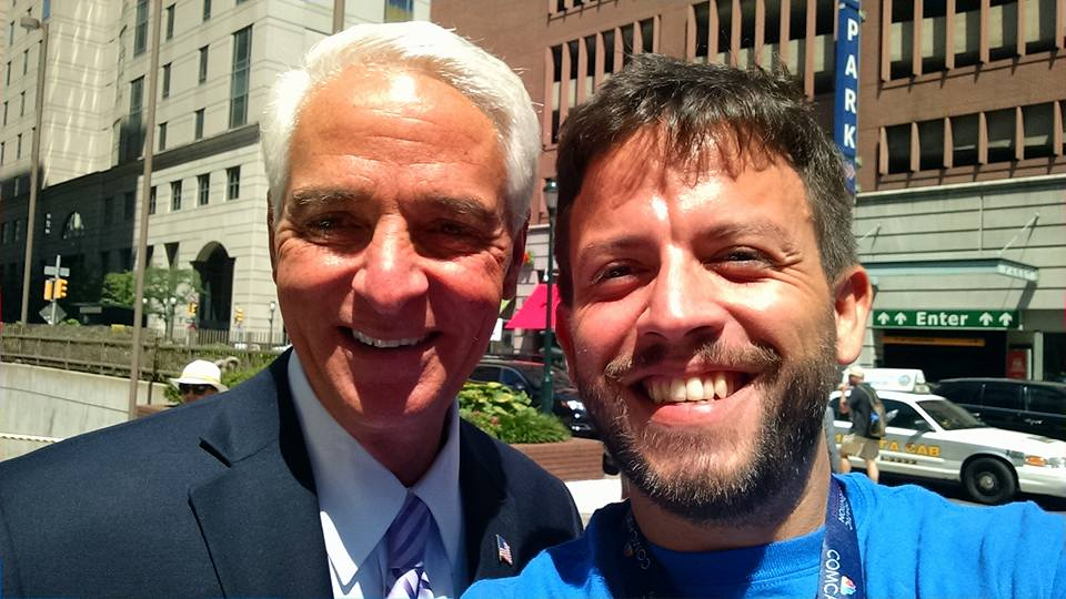 Matt with Charlie Crist