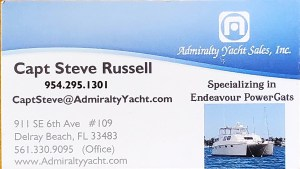 Steve Russell, specializing in Endeavour Power Cats