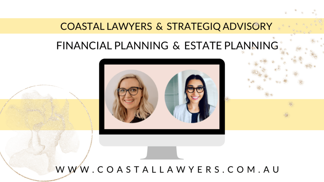 Financial planning and estate planning video coastal lawyers