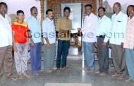 ರಾಷ್ಟ್ರೀಯ ಮಟ್ಟದ ವಾಲಿಬಾಲ್ ಕ್ರೀಡಾಪಟುವಿಗೆ ಚೆಕ್ ಹಸ್ತಾಂತರ