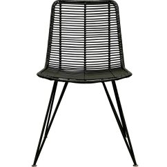 Black Rattan Chair Chairs Covers For Sale Weave Dining