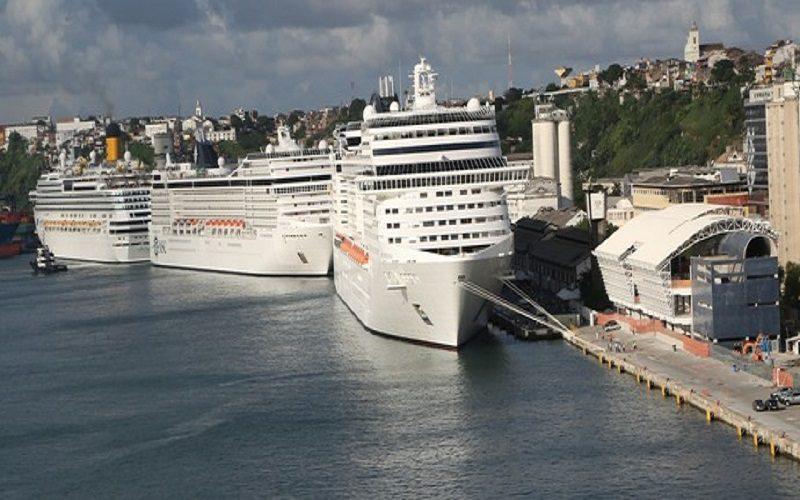 Foto do Porto de Salvador