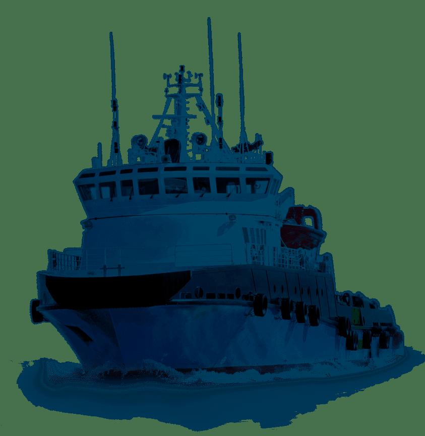 Imagem barco rebocador