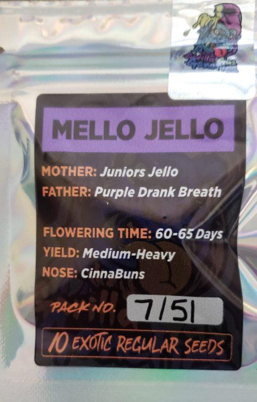 Mello Jello Back Image from Gorilla Gas