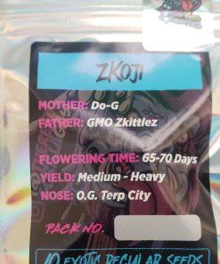 ZKoji regular seeds from Gorilla Gas for Coastal Mary Seeds