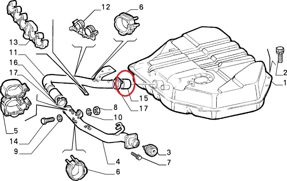 Fiat Ducato Peugeot Boxer Citroen Relay Fuel Tank Filler