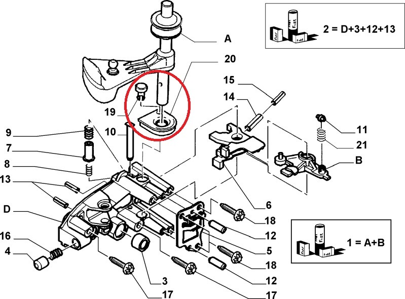 Fiat Ducato Peugeot Boxer Citroen Relay Gearbox Selector