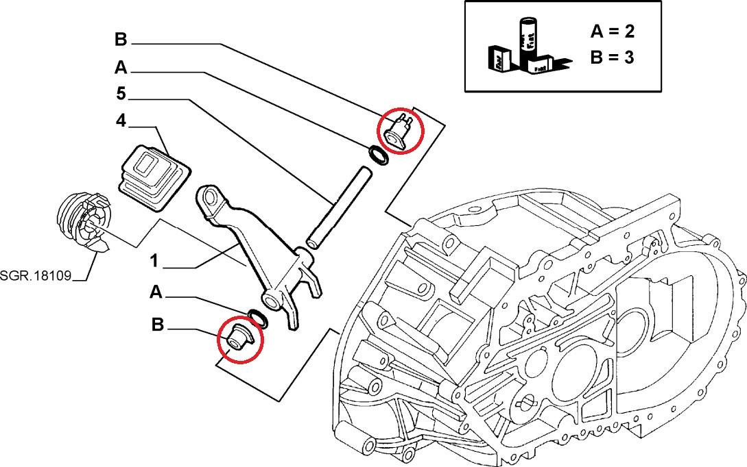 Fiat Ducato Peugeot Boxer Citroen Relay Clutch Release Arm