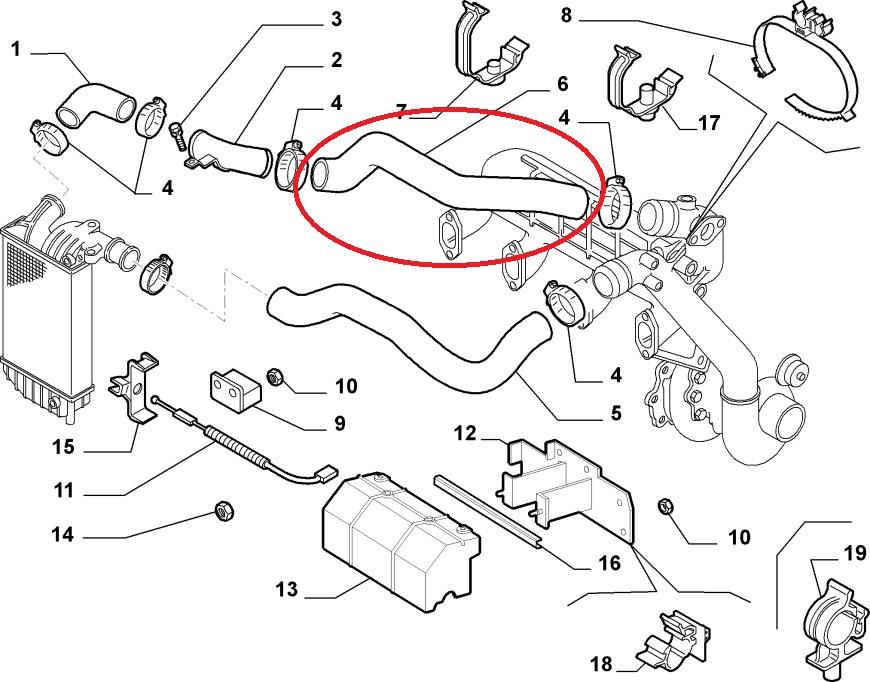 Fiat Ducato Peugeot Boxer Citroen Relay Intercooler Turbo