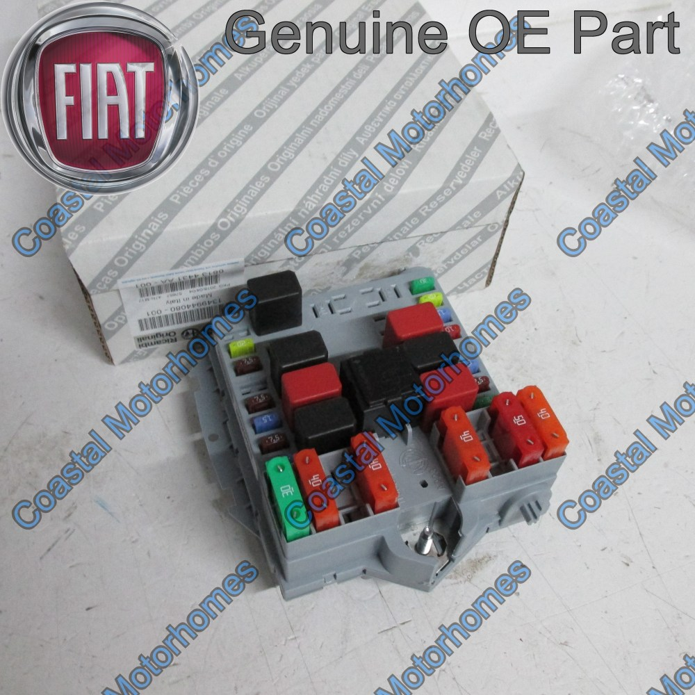 medium resolution of fiat ducato peugeot boxer citroen relay fuse box 2006 2011 oe