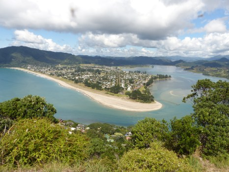 From Mt. Paku looking down on Pauanui
