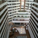 The atrium of the Hyatt Regency Indianapolis