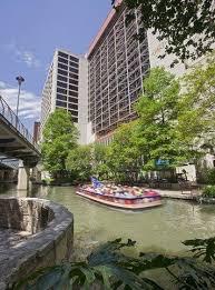The Riverwalk, adjacent to the Hyatt Regency San Antonio