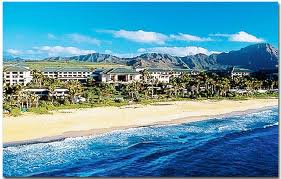Poi'pu and Shipwreck Beaches adjoining the Grand Hyatt Kaua'i