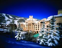 A snowy April at the Hyat Regency Beaver Creek