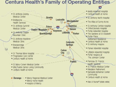 Eastern Colorado's Centura hospital network