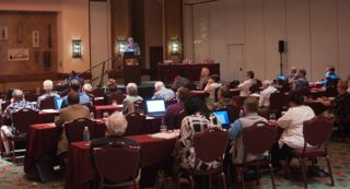 A plenary session at the 24th National Conference at the Grand Hyatt Kaua'i