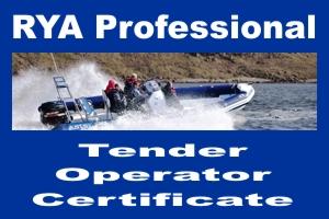 RYA Tender Operator Certificate TOC UAE