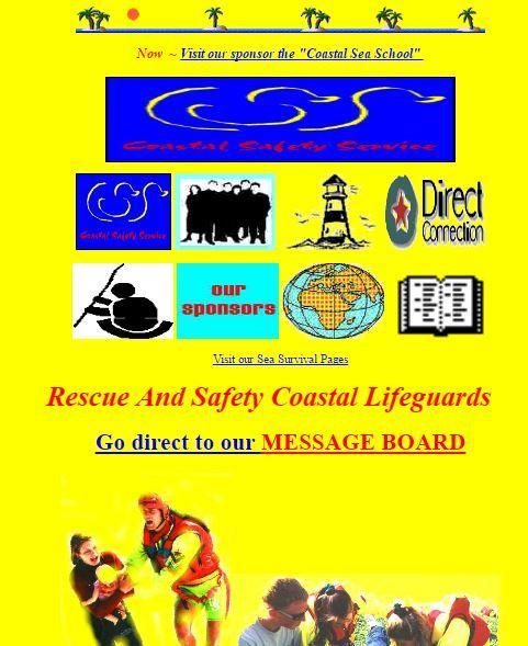 Coastal Safety - Origins