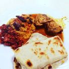 Pol Coconut Roti Short Eat Snack Sri Lanka 1